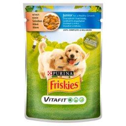 Vitafit Junior Karma dla psów z kurczakiem i marchewką w sosie