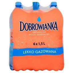 Naturalna woda mineralna lekko gazowana 6 x 1,5 l