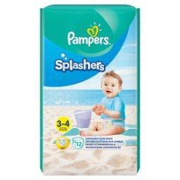 Splashers, R3-4, 12jednorazowych pieluch do pływani...