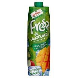 Fresz się owocami Jabłko mango kiwi limonka Napój wieloowocowy 1 l