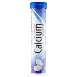 Calcium + Witamina D3 Tabletki musujące o smaku cytrynowym