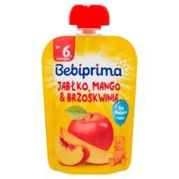 Mus owocowy po 6. miesiącu jabłko mango & brzoskwinia