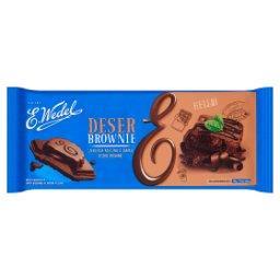 Czekolada mleczna o smaku brownie