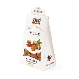 Migdał w białej czekoladzie z cynamonem
