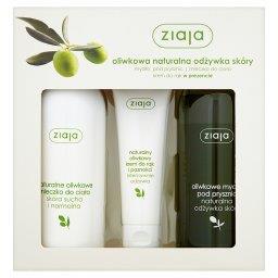 Oliwkowa naturalna odżywka skóry Zestaw kosmetyków
