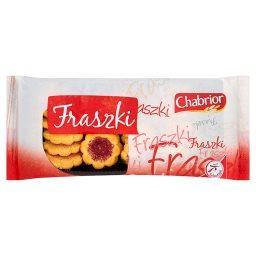 Fraszki Ciastka kruche z nadzieniem o smaku truskawkowym
