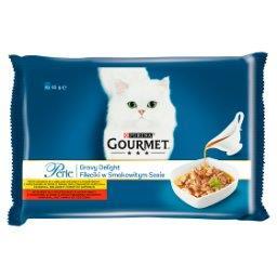 Perle Karma dla kotów kolekcja mini filecików w smakowitym sosie 340 g