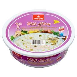Pho Chay Zupa błyskawiczna z kluskami ryżowymi wegetariańska w stylu wietnamskim