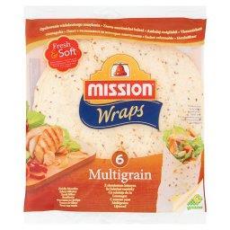 Wraps Tortilla z mąki pszennej z siemieniem lnianym  (6 sztuk)