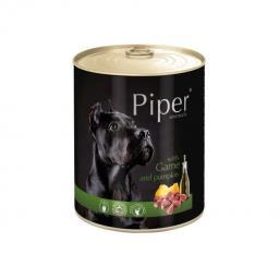 Mokra karma dla psa Piper Animals z dziczyzną i dynią 800 g