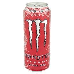 Ultra Red Gazowany napój energetyczny