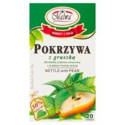 Herbatka ziołowo-owocowa z dodatkiem herbaty zielone...