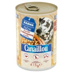 Pełnoporcjowa karma dla dorosłych psów kawałki z dziczyzną w sosie