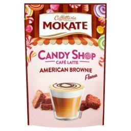 Caffetteria Candy Shop Napój kawowy w proszku o smaku czekoladowego brownie