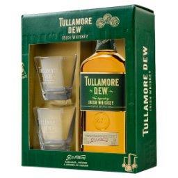 Irlandzka whiskey  + 2 szklanki