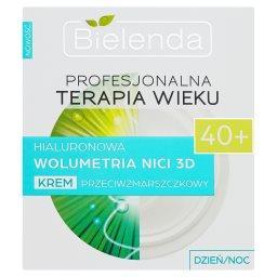 Profesjonalna Terapia Wieku 40+ Hialuronowa Wolumetria Nici 3D Krem dzień noc
