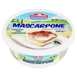 Mascarpone kremowy i śmietankowy