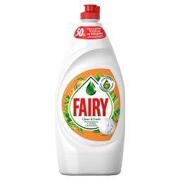 Clean & Fresh Pomarańcza z Trawą Cytrynową Płyn do m...