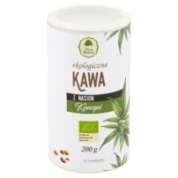 Ekologiczna kawa z nasion konopi