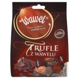 Trufle z u Cukierki o smaku rumowym w czekoladzie