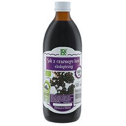 Sok z czarnego bzu ekologiczny 500ml