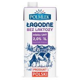 Mleko UHT bez laktozy 2%
