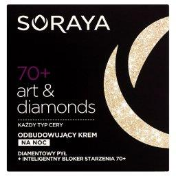 Art & diamonds 70+ Odbudowujący krem na noc