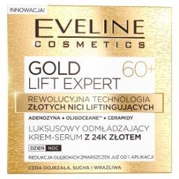 GOLD LIFT EXPERT Luksusowy odmładzający krem-serum z 24k złotem 60+