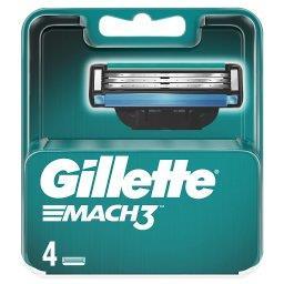 Mach3 Ostrza wymienne do maszynki do golenia dla mężczyzn, 4 sztuki