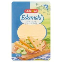 Ser żółty edamski w plastrach