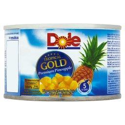 Tropical Gold Kawałki ananasa w soku