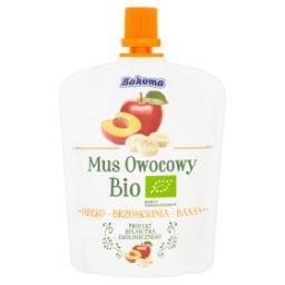 Mus owocowy Bio jabłko-brzoskwinia-banan