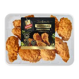 Skrzydełka z kurczaka panierowane 450 g