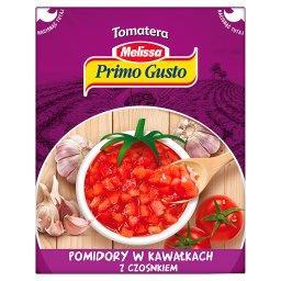 Melissa Tomatera Pomidory w kawałkach z czosnkiem