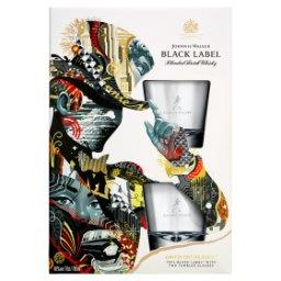 Black Label Scotch Whisky  + 2 szklanki Zestaw