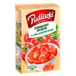 Pomidory krojone w soku pomidorowym