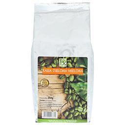 Kawa zielona mielona 250g