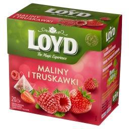 Herbatka owocowa aromatyzowana o smaku maliny i trus...