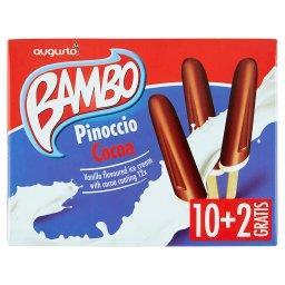 Bambo Pinoccio Cocoa Lody o smaku waniliowym w polewie kakaowej 624 ml (12 x )