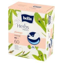 Herbs Panty Plantago Normal Wkładki higieniczne 60 sztuk