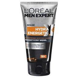 Men Expert Hydra Energetic X 18+ Żel oczyszczający do twarzy Magnetyczny Węgiel