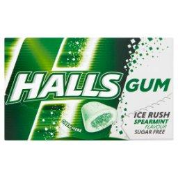 Gum Ice Rush Bezcukrowa guma do żucia o smaku miętowym