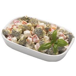 Sałatka zimowa brokułowa