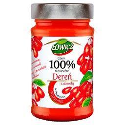 Dżem 100% z owoców dereń z acerolą