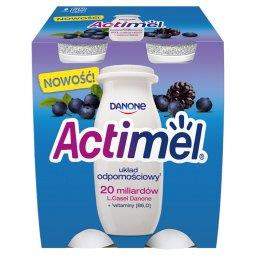 Actimel Mleko fermentowane o smaku jeżynowo-jagodowym 400 g (4 x )