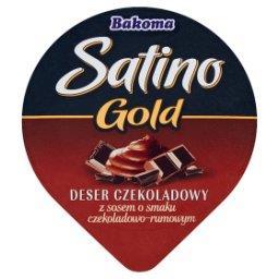 Satino Gold Deser czekoladowy z sosem o smaku czekoladowo-rumowym