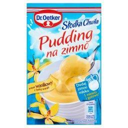 Słodka Chwila Pudding na zimno smak waniliowy z laską wanilii