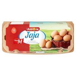 Jaja z chowu klatkowego M 10 sztuk