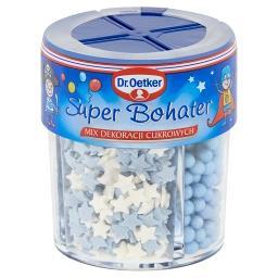 Mix dekoracji cukrowych super bohater