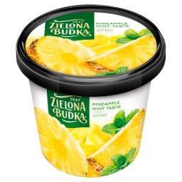 Sorbet ananasowy ze smakiem miętowym